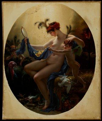 Portrait. Mythology. History. Oval.