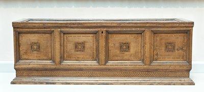 Cassone with Intarsia decoration