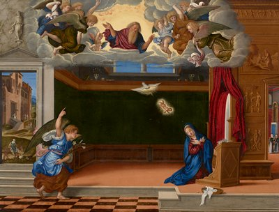 Religion: New Testament Annunciation