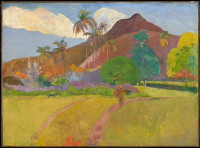 Nabi. Landscape in tropical and subtropical region: Tahiti