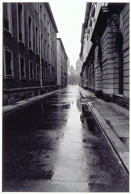rainy alley scene; Part of a portfolio
