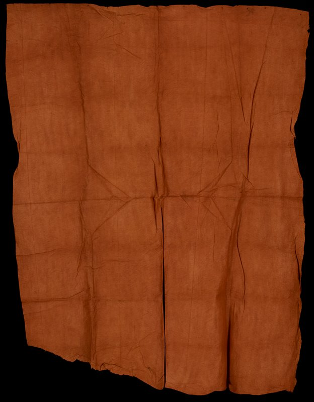 undecorated dark orange panel