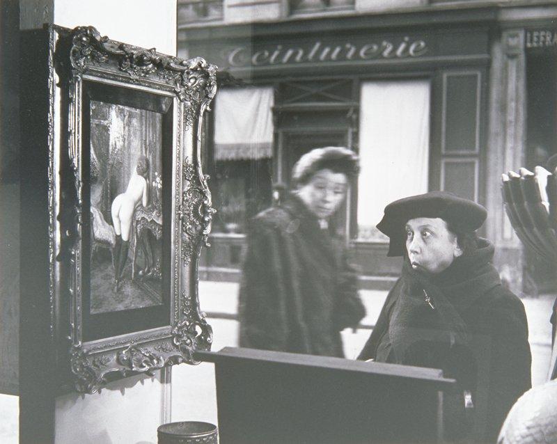 Robert Doisneau PRINT Vintage 2004 Photography Art Paris Typist Young Woman Legs
