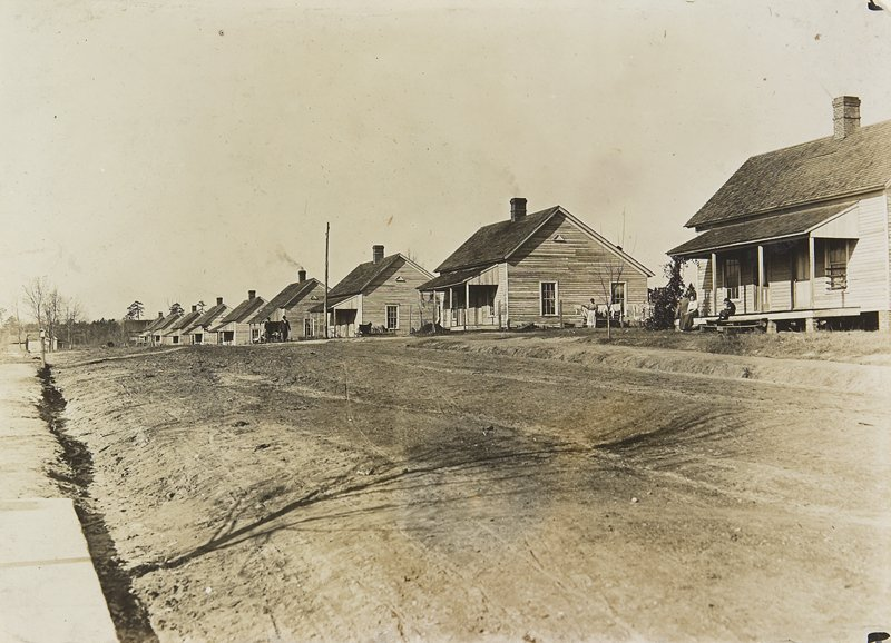 mill workers' houses, South Carolina