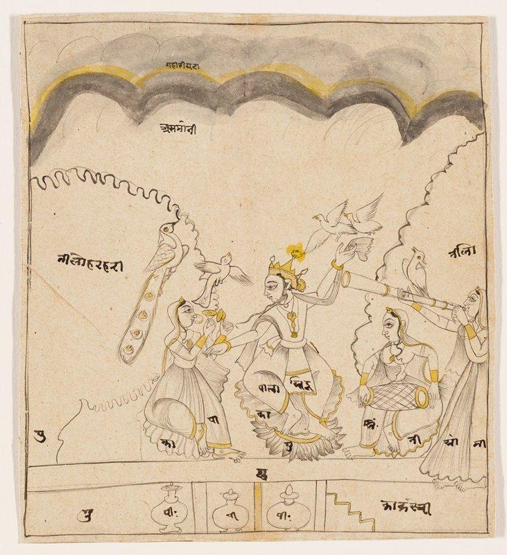 illustration from a Ramayana series; Sirohi