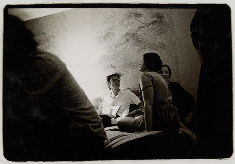 Richard Avedon at Ambassador Motel, Minneapolis