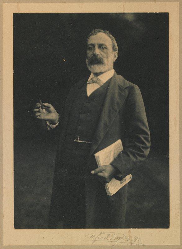 Stieglitz's mother's first cousin