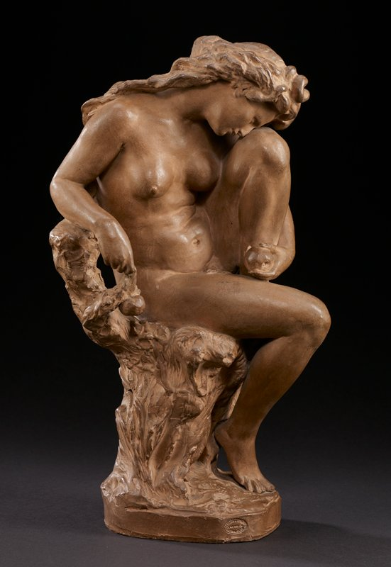 signed and dated on bottom JBt. Carpeaux,1872