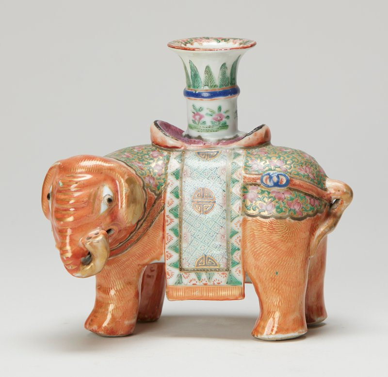 elephant, enamel color trim