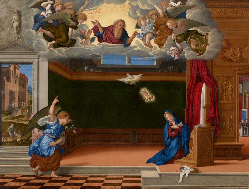 Religion: New Testament Annunciation
