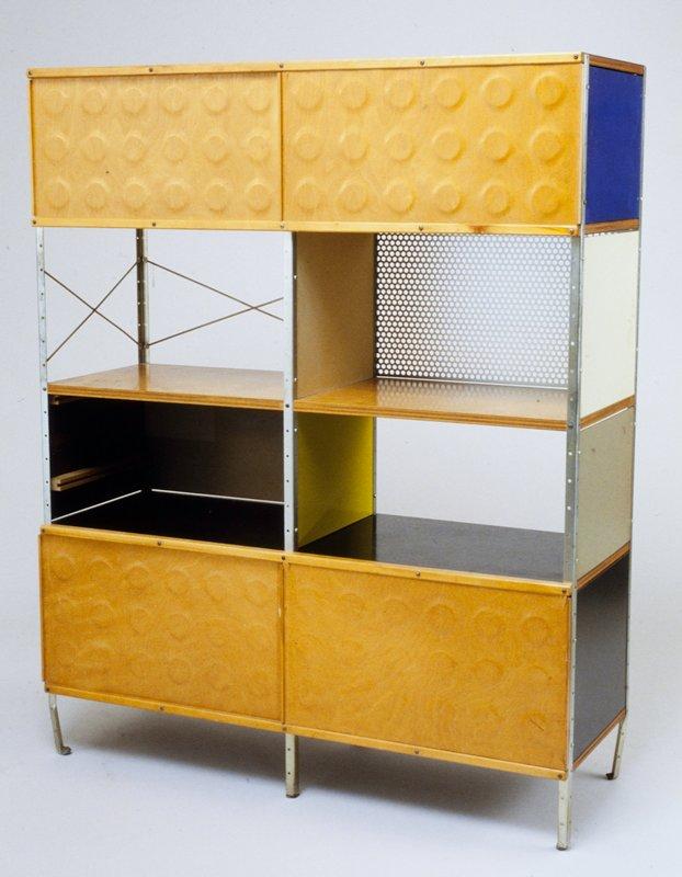 ESU room divider Eames Storage Unit Charles Eames Designer Ray