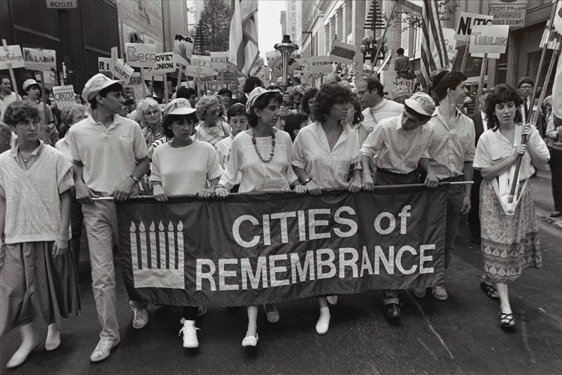"""parade """"cities of remembrance"""""""