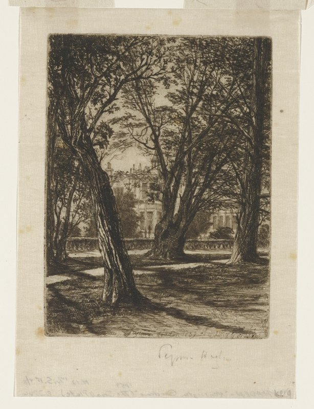 Kensington Gardens (small plate)