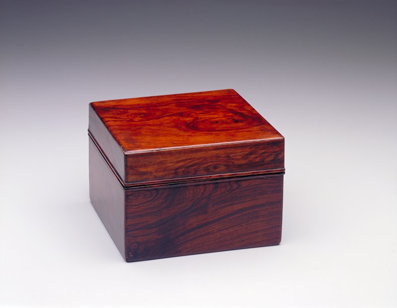 box and cover with removable interior tray