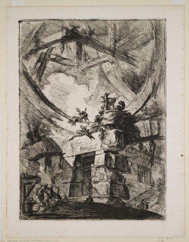 Plate 9 from Carceri d'Invenzione