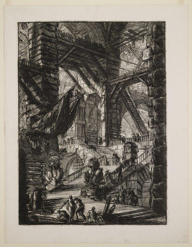 Plate 8 from Carceri d'Invenzione