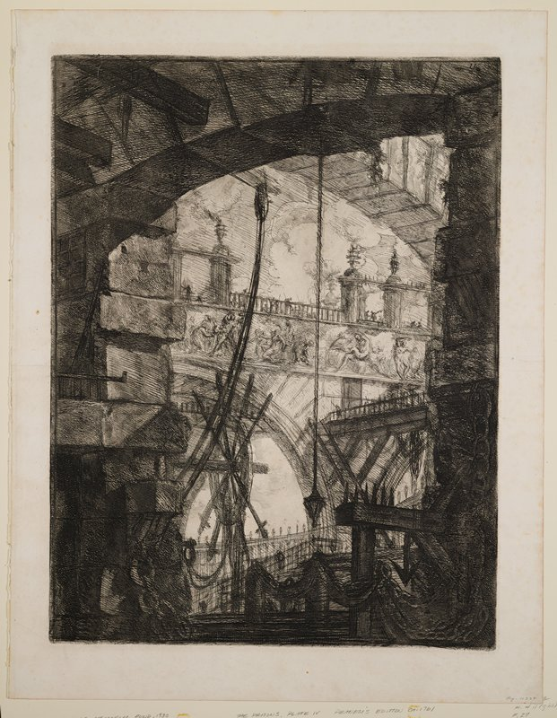 Plate 4 from Carceri d'Invenzione