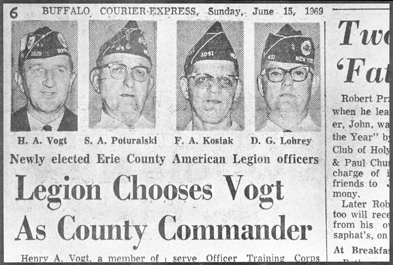 newspaper photograph of four men wearing hats
