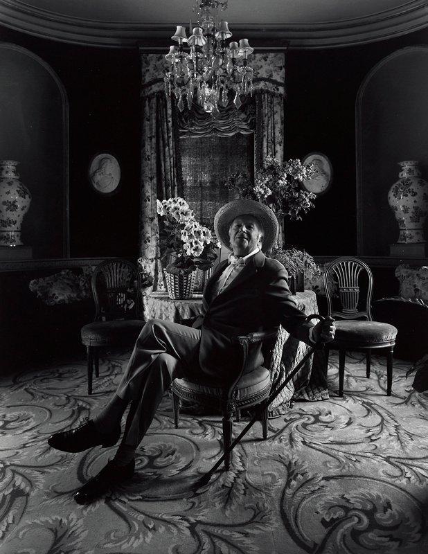 portrait, Sir Cecil Beaton