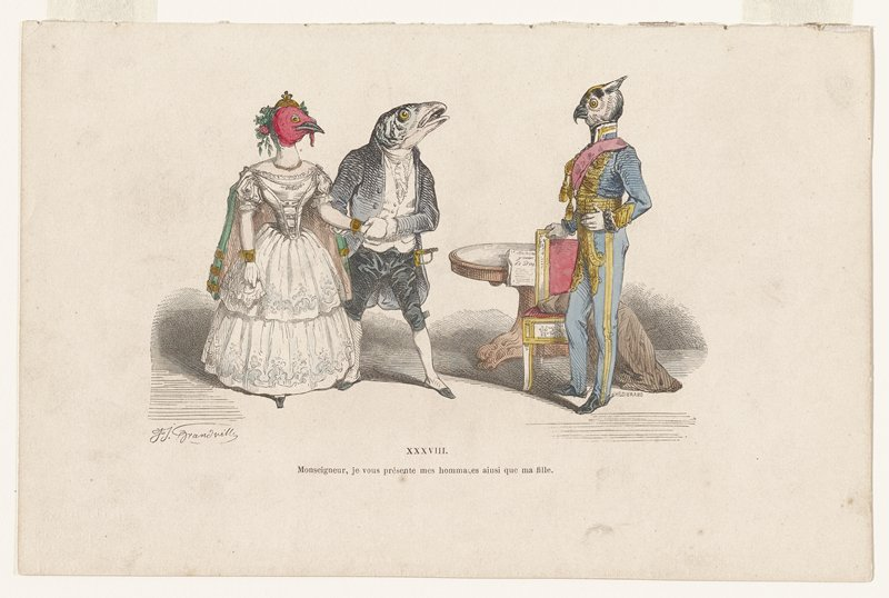 Caricature No. XXXVIII
