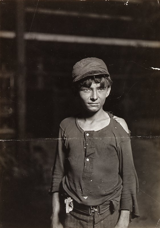 child glassworker, Indianapolis
