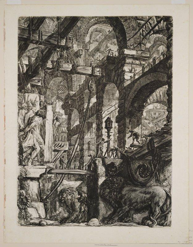 Plate 5 from Carceri d'Invenzione